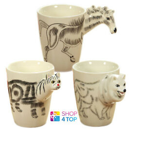 Animal Mug 3d Shape Handle Funny Lovely Cup Coffee Tea