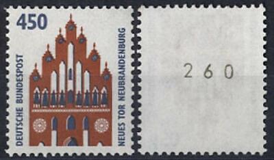 53146] Bund, Michel Nr. 1623 R I Postfrisch Rollenmarke Mit Nr. Und Ein Langes Leben Haben.