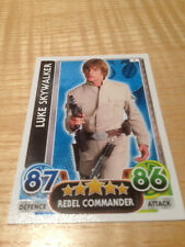 STAR WARS Force Awakens - Force Attax Trading Card #001 Luke Skywalker