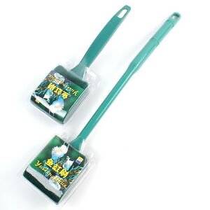 Active Set Of 2 Plastic Handle Sponge Cleaning Brushes Cleaner For Fish Tank Aquarium Cleaning & Maintenance
