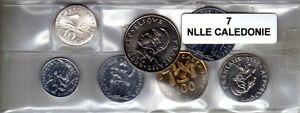 PerséVéRant Nouvelle Calédonie Série De 7 Pièces De Monnaie