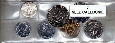 Nouvelle Calédonie Série De 7 Pièces De Monnaie Winst Klein