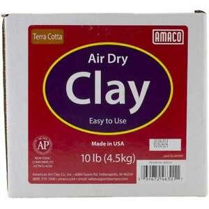 Air-Dry-Modeling-Clay-10lb-Terra-Cotta-039672463011