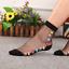 Women-Transparent-Thin-Roses-Flower-Lace-Socks-Crystal-Glass-Silk-Short-Socks miniature 4
