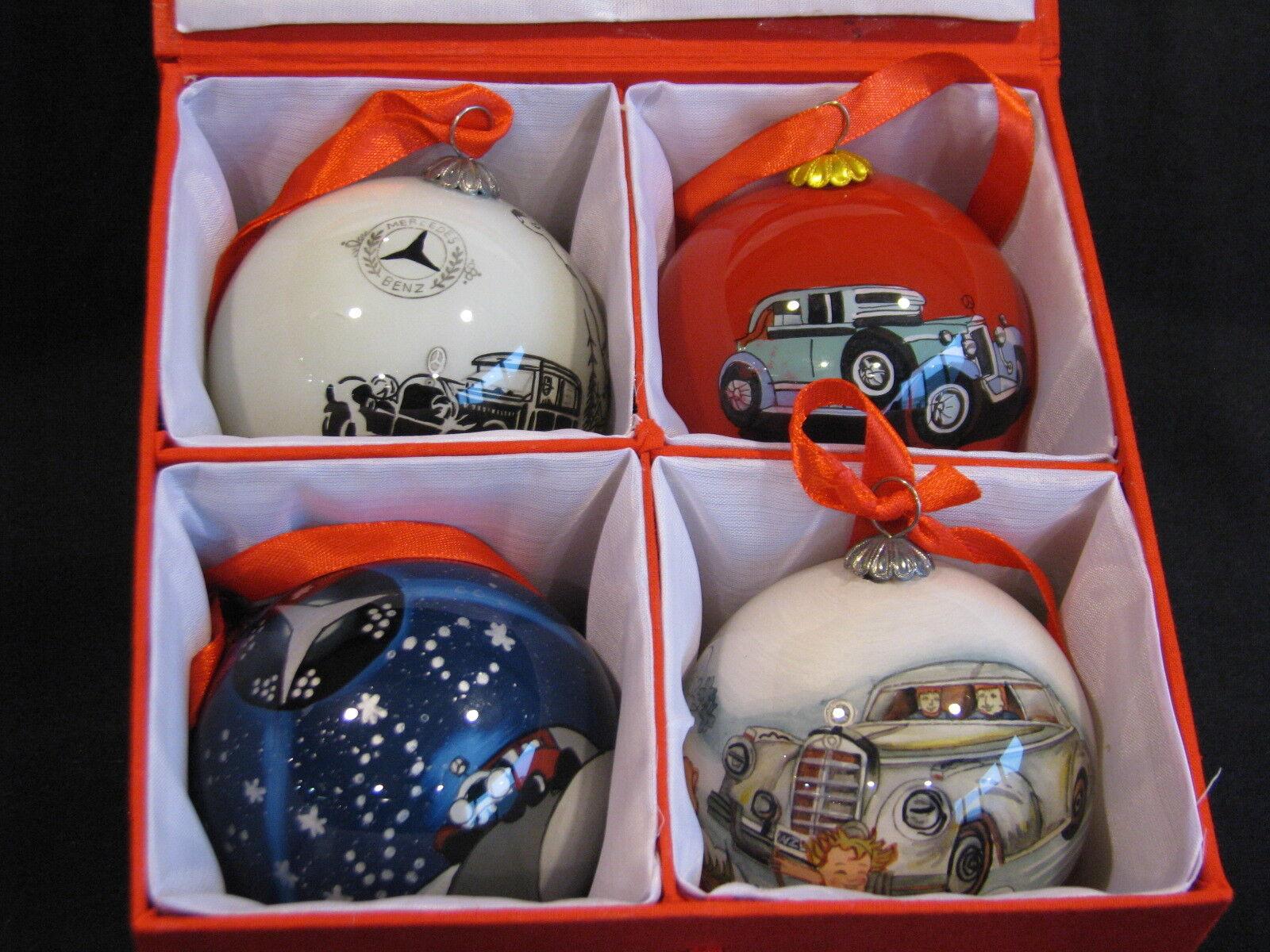 Mercedes-Benz Weihnachtskugeln   Christmas Tree Balls (4pcs) (JS) B66043353 B66043353 B66043353 19a617