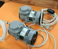 Lot Of 2 Thomas Industries Compressorvacuum Pump 107cab18