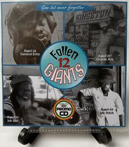 Fallen Giants 12 a series dedicated to Reggae Giants no longer with us R.I.P.