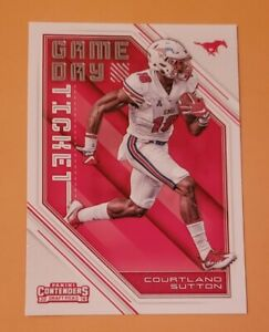 2018-Panini-Contenders-Draft-Picks-Game-Day-Ticket-7-Courtland-Sutton
