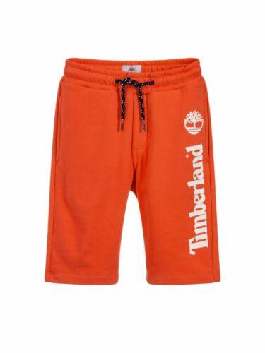 Timberland Boys Orange Cotton Jersey Shorts