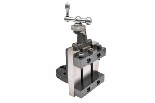 """VERTICAL SLIDE 4/"""" x 5/"""" {3 SLOTS IN THE BASE FOR CLAMPING DOWN }"""