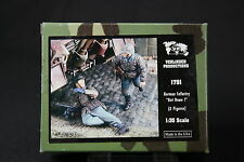 ZA676 VERLINDEN PRODUCTIONS GERMAN INFANTRY GET DOWN 2 fig WWII Ref 1791 1/35 NB