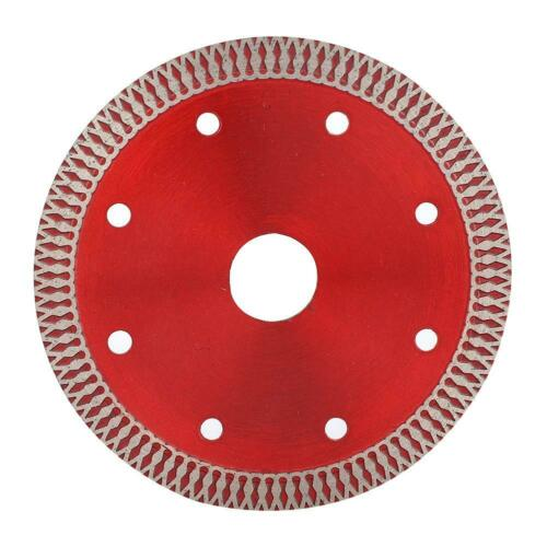 110*20*10mm Diamond Saw Blade Cutting Disc For Cutting Ceramic Tile Stone Red
