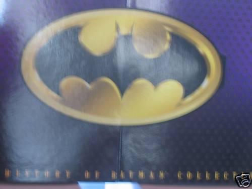 FAO noir HISTORY de Batman Action Figure Set