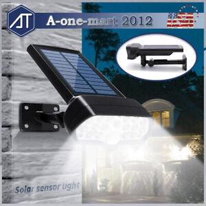Luz-Led-Ajustable-Energia-Solar-Sensor-De-Movimiento-Infrarrojo-Pasivo-Spot-Lampara-de-Pared-Jardin