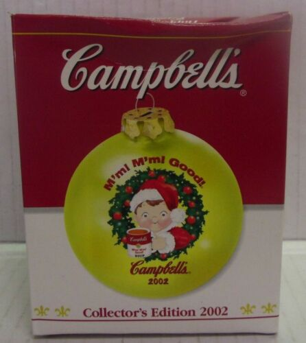 Campbell/'s Soup Christmas Ornaments