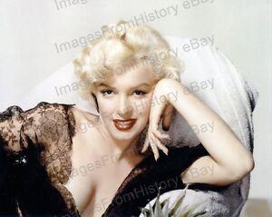 Portrait Marilyn Monroe Color