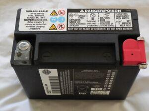 Harley Davidson Batterie 17,5 AH Softail Dyna Sportster VRSC 66000207A 65989-97D