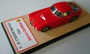 Ferrari 250 Mm 1953-modelant Modèles 1/43