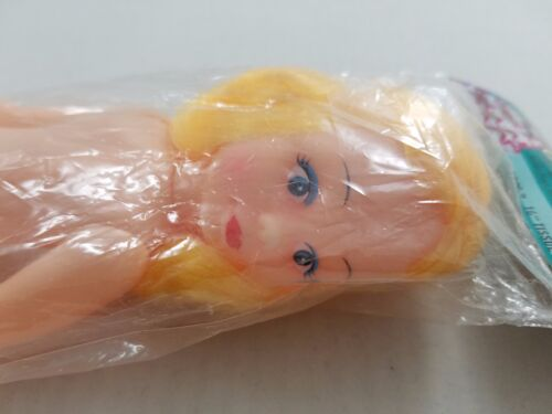 1993 Darice Cover Girl Toilet Paper DOLL Blond Hair Blue Eyes 1228-2 Crafts NOS