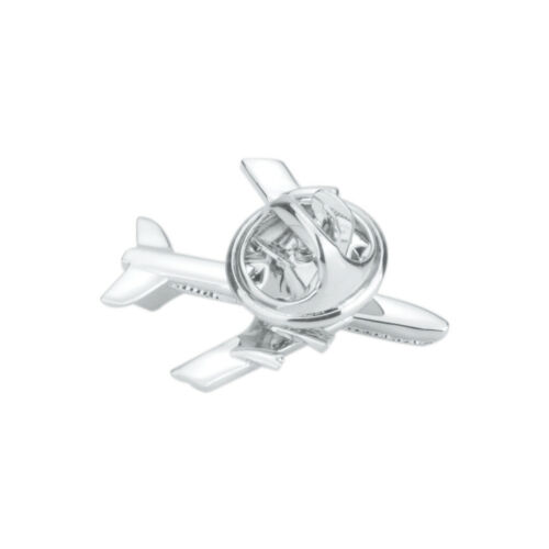 Men/'s Fashion Silver Airplane Button Collar Lapel Clip Brooch Pin Jewelry Gift