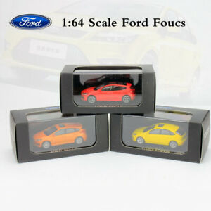 ORIGINAL-1-64-Scale-Ford-Focus-Diecast-Metal-Car-Model-Collections-New-In-Box