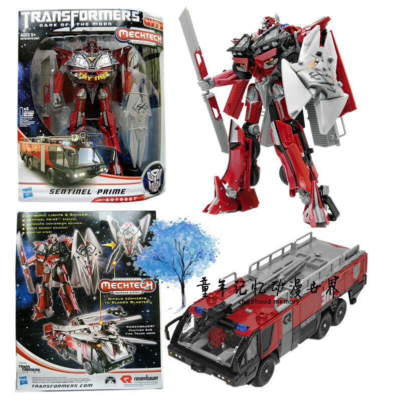 MECHTECH TRANSFORMERS SENTINEL PRIME LEADER CLASS ELECTRONIC ACTION FIGURES TOY