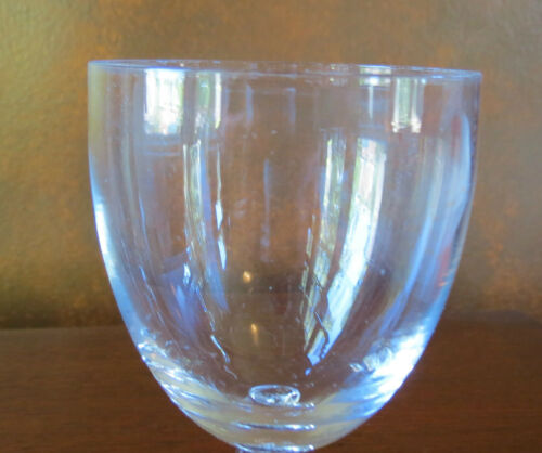 s Fostoria Crystal Clear Contour #6060 Water Goblet