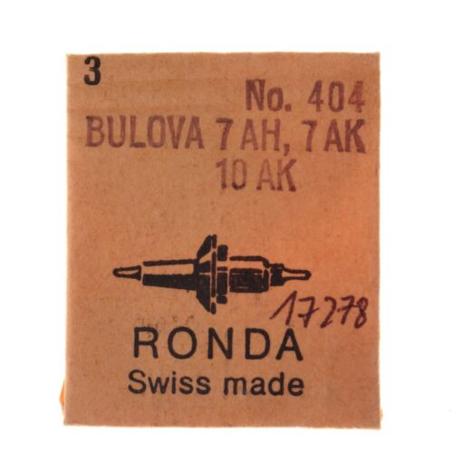 Asse-Balance staff BULOVA 7 AH,7 AK,10 AK 1pz//1pc RONDA 404