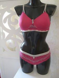 Amoena-Lara-Pink-Prothesen-BH-Set-Groesse-75-A-36-75-B-38-80-A-40-80-B-40-Cup-NEU