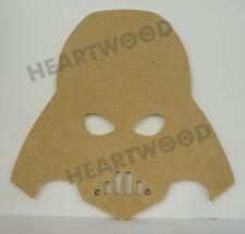 DARTH VADER HEAD IN MDF/198mm x 6mm/WOODEN SHAPE
