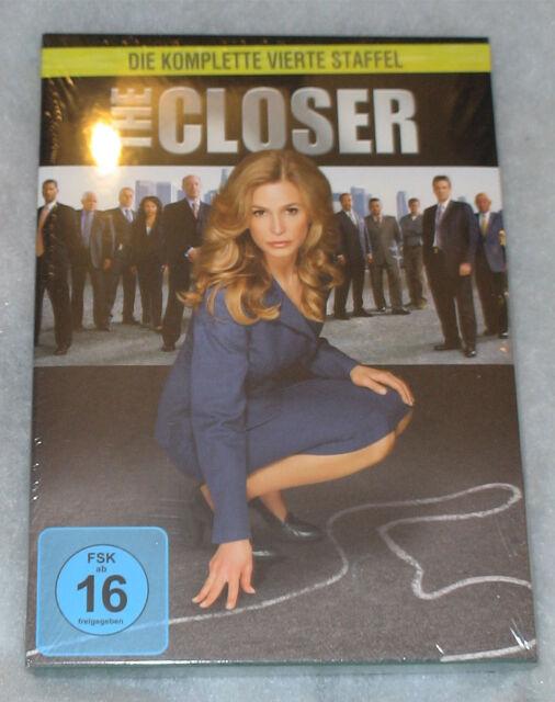 DVD The Closer TV Series Fourth Season 4 Cuarta TEMPORADA Kyra ...