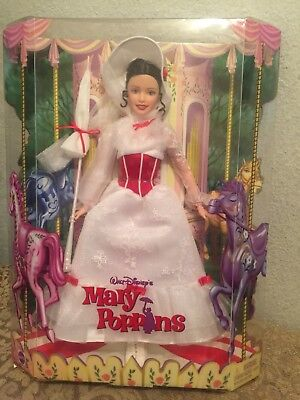 Barbie Walt Disney Mary Poppins Doll Mattel 2005 RARE NEW IN BOX!