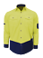 HI-VIS-SHIRT-NEW-DESIGN-SAFETY-COTTON-DRILL-WORK-Vents-UPF-50-LONG-SLEEVE thumbnail 32