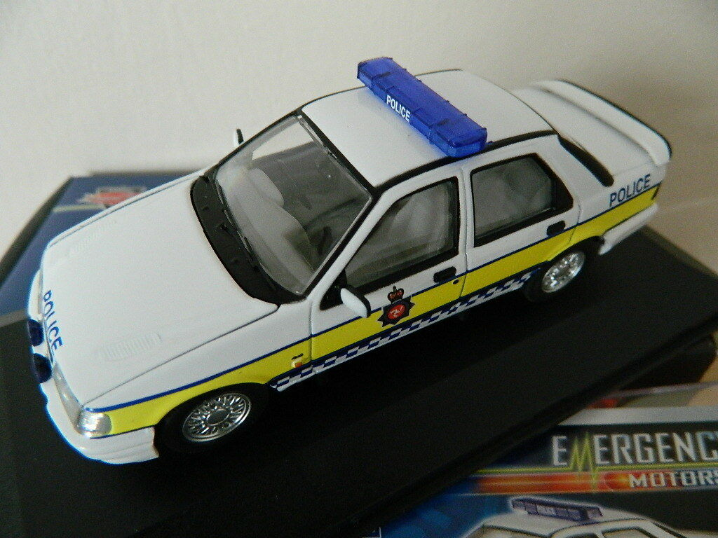 Vanguards Corgi VA10008 Ford Sierra Sapphire  Cosworth Isle of Man Police