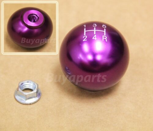 JDM Purple aluminum ball style 5 speed Shift KNOB for 1990-1993 Acura Integra DA