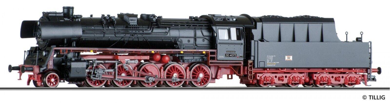 TT Locomotiva br50.40 DR ep. III Tillig 03030