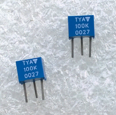 VISHAY TYA 10/% LOT DE 4 POTENTIOMETRES POUR CI 100 kOhms