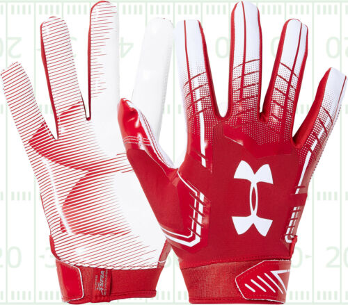 Under Armour UA F6 ADULT Men/'s Football Gloves with Grabtack 1304694 Sale $19.95