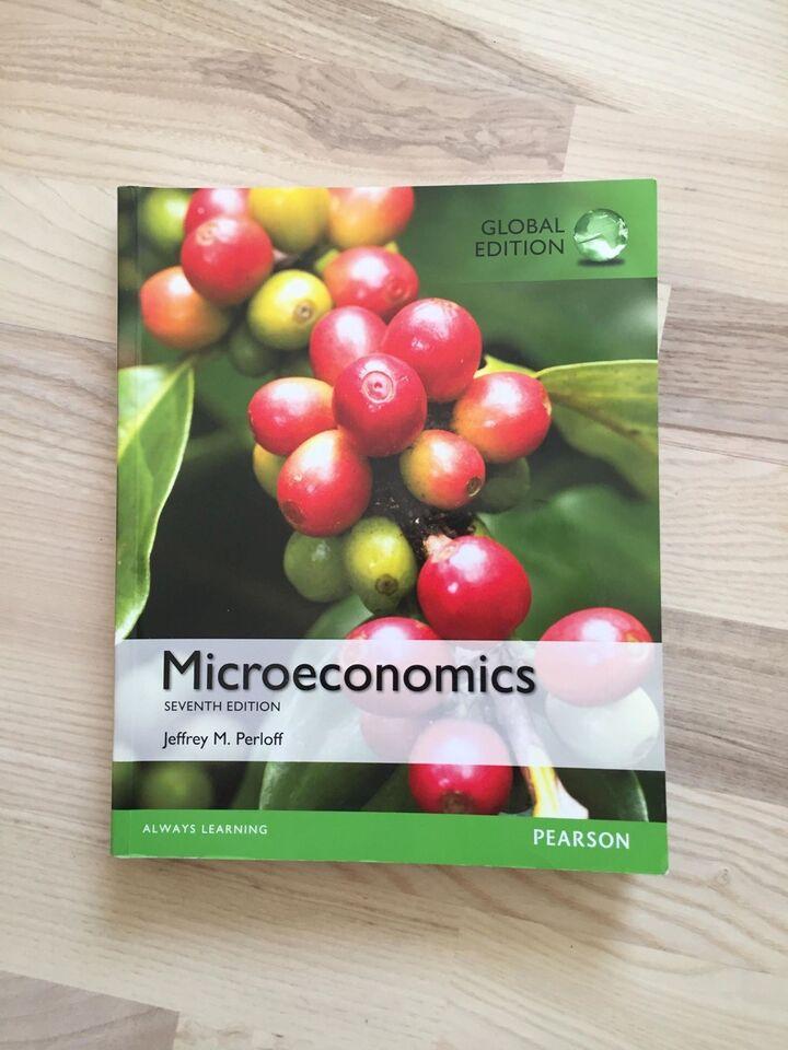 Microeconomics, Jeffrey M. Perloff, emne: økonomi