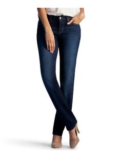 683773003da28 Women s Lee Secretly Shapes Regular Fit Straight Leg Jeans size 14M ...