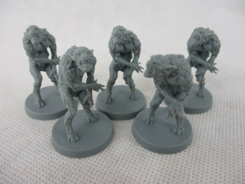 Cthulhu Death May Die LOT of 20 CTHULHU MYTHOS MINIATURES FIGURES New!!