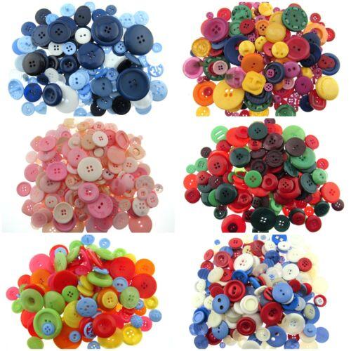 100 Grams Mixed Assorted Craft Buttons Approx 120 Buttons Craft Buttons