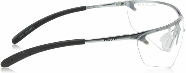 Bollé Safety 40073 Silium Eyewear With Silver Universal Metal for sale online