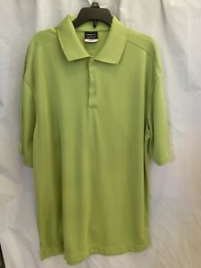 Nike-Golf-Dri-Fit-Men-s-Kiwi-Athletic-Polo-Tee-Shirt-Top-Size-Large
