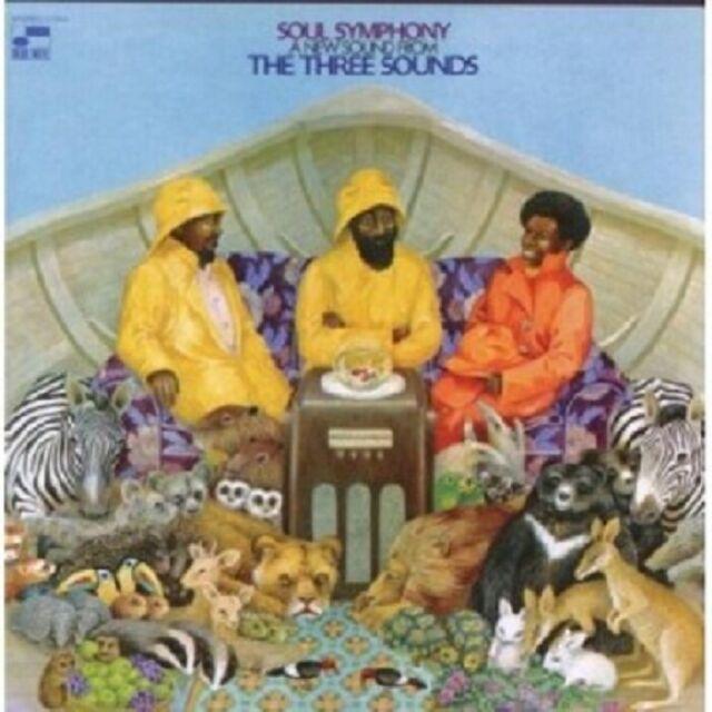 THE THREE SOUNDS - SOUL SYMPHONY  CD 5 TRACKS ACID / DANCEFLOOR JAZZ NEU