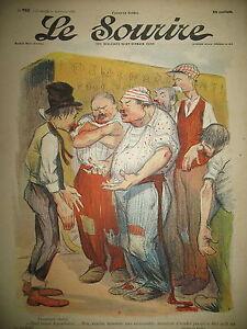 LE-SOURIRE-N-193-JOURNAL-HUMORISTIQUE-CADEL-FLORES-ROUBILLE-BERTRAND-1903