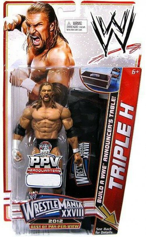 WWE Wrestling Best of PPV Triple H Action Figure