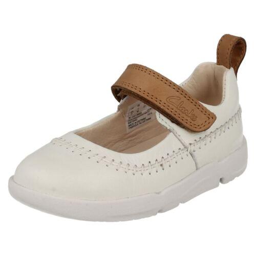 Cuir Fille Babies Chaussures Marche Trois Premier Riptape Bébé Enfant Clarks vr7cv8q