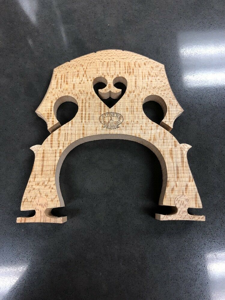 Full Größe Cello Bridge Aubert Adjustable Medium Stance New