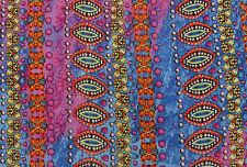 Abstrakte Muster nähen, Basteln, Nähen Baumwollstoff 44 Zoll lang und 1 Meter
